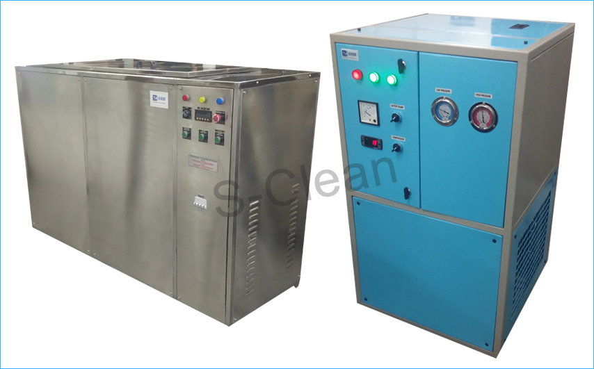 Ultrasonic Cleaner with Vapour with Chiller Unit